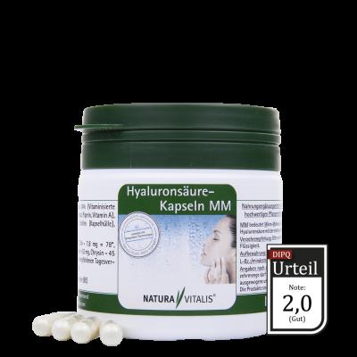 Hyaluronsäure Kapseln MM von Natura Vitalis - 120 Kapseln